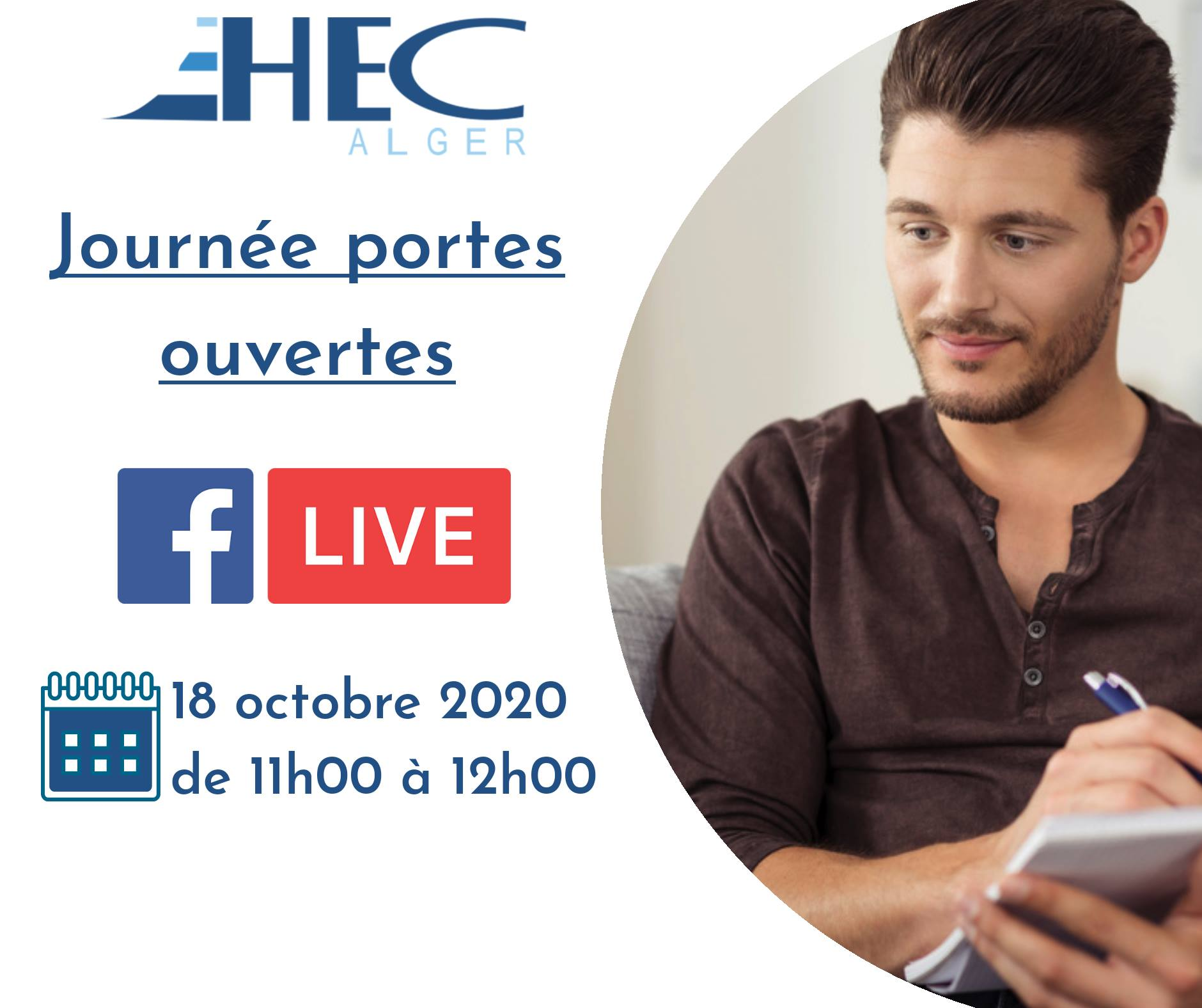 EHEC Virtual Open-days, 2nd day, October 19th, 2020