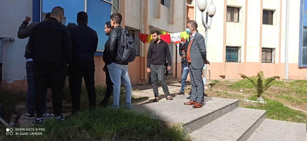 Visite d'inspection des cités universitaires du pôle
